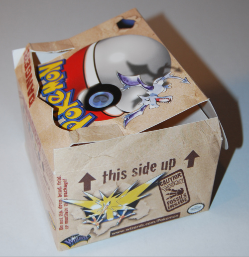 Pokemon fossil box 2