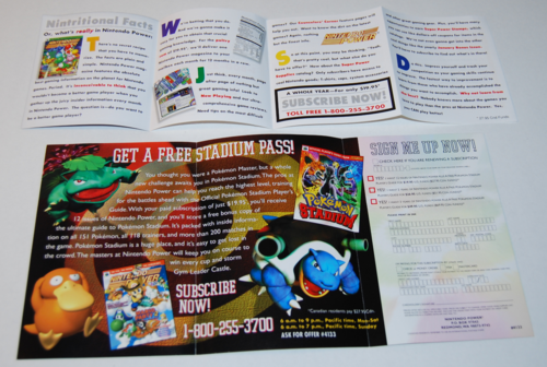 Pokemon stadium offer x