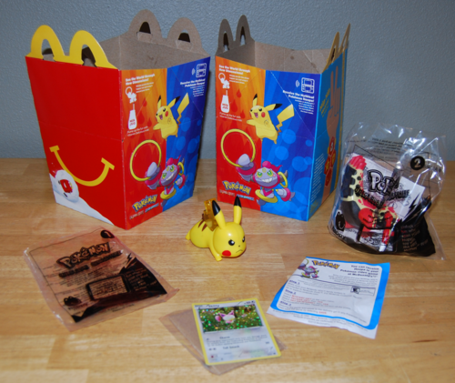 Pokemon happy meal 2015
