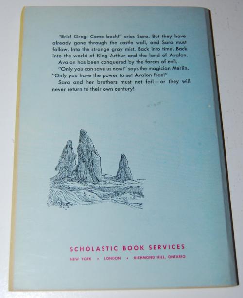 Gray magic scholastic book x