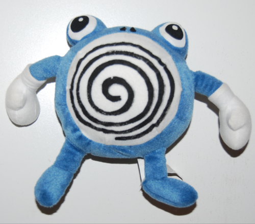 Pokemon polliwhirl plush