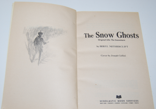 The snow ghosts scholastic book 1