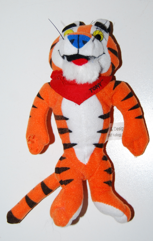 Tony tiger plush