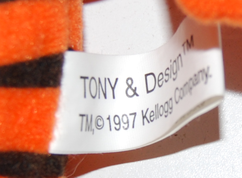 Tony tiger plush x
