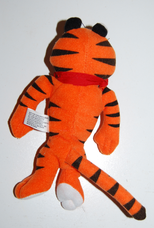 Tony tiger plush 1