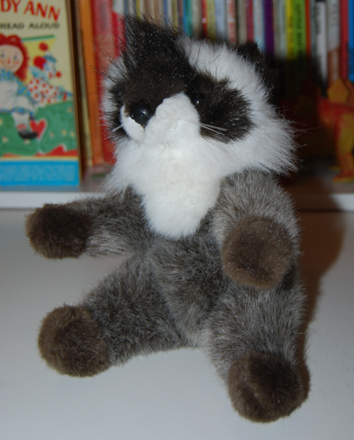 Plush creations raccoon toy