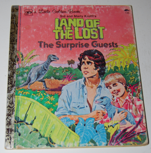 Land of the lost little golden book