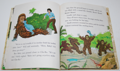 Land of the lost little golden book 6