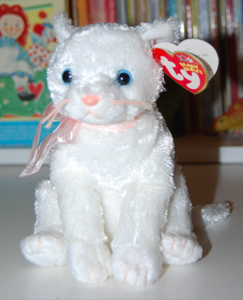 Ty beanie babies fancy cat