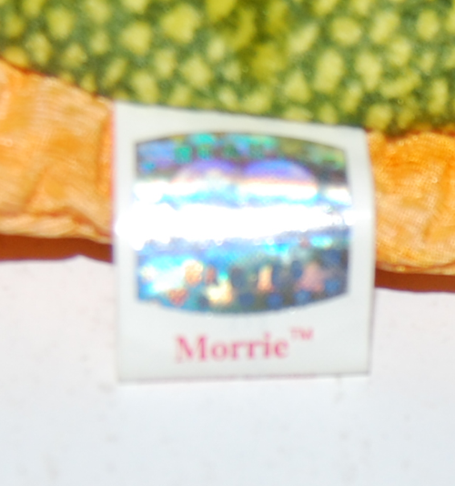 Ty beanie baby morrie x