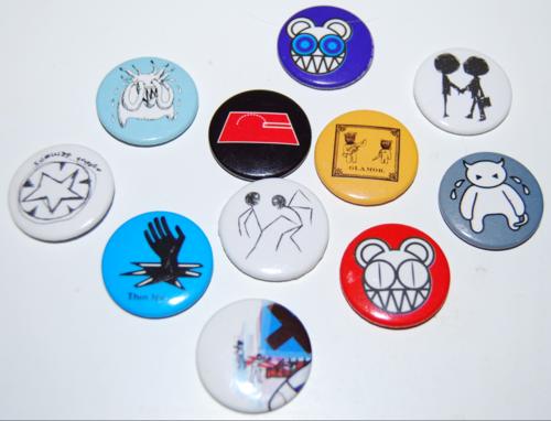 Radiohead badges