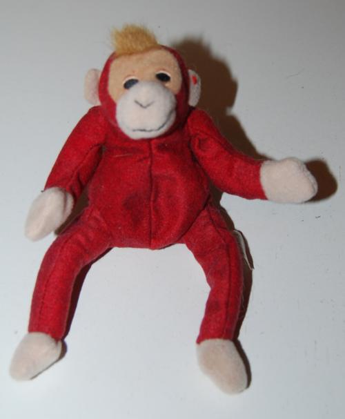Ty teenie beanie baby orangutan