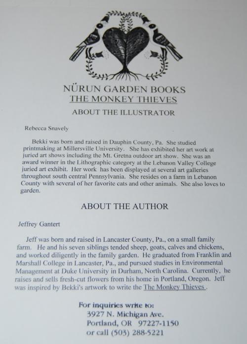 The monkey thieves x