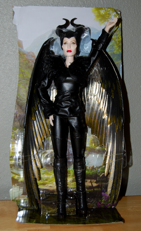 Winged fairy maleficent doll 3