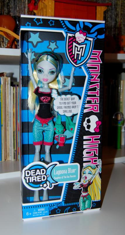 Monster high doll lagoona blue