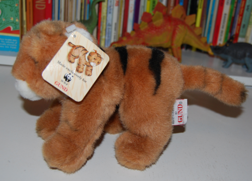 Gund tiger plush toy