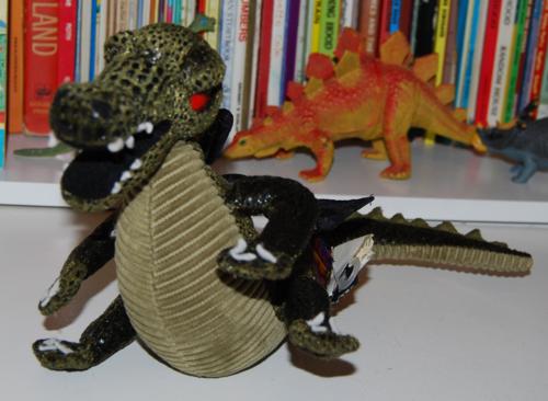 Gund dragon plush toy