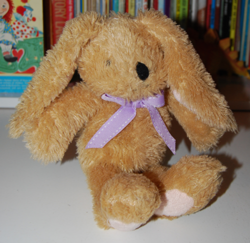 Easter rabbit plush