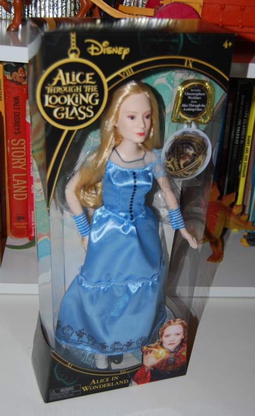 Alice through the looking glass doll alice