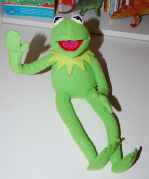 Kermit the frog plush toy 1