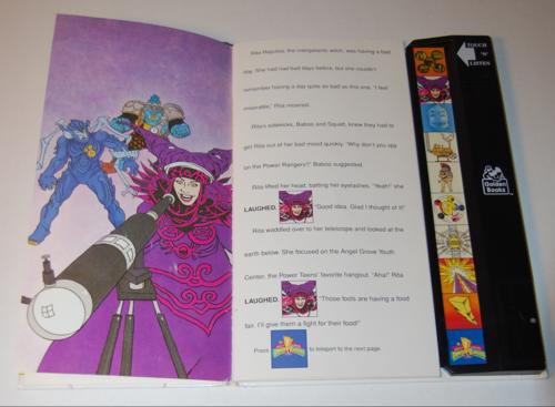 Power rangers golden sound story book 2
