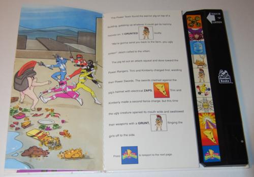 Power rangers golden sound story book 5