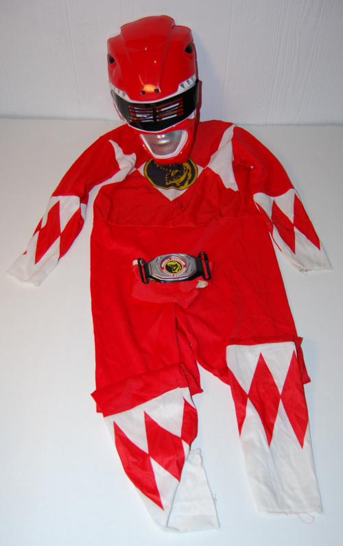 Vintage power ranger halloween costume