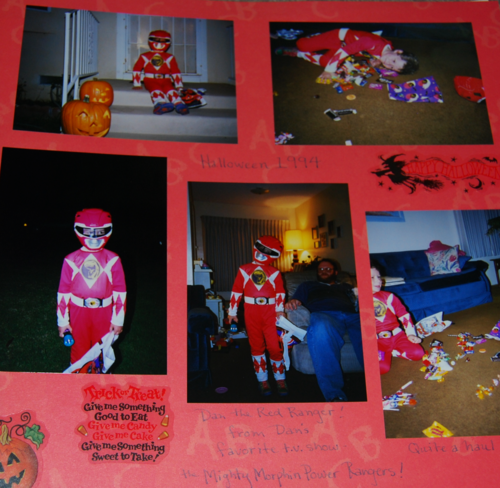 Red ranger halloween