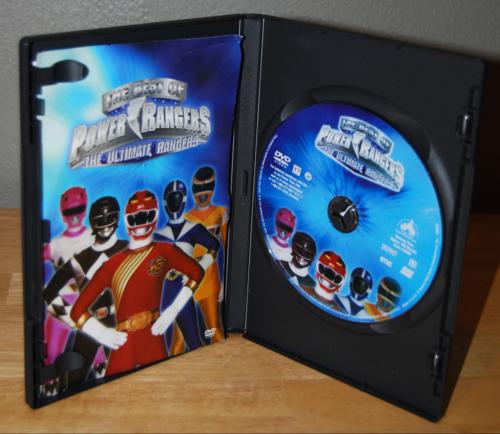 Best of power rangers dvd 1