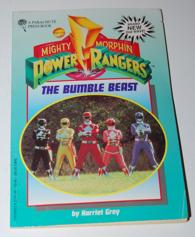 mighty morphin power ranger books