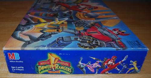 Milton bradley power rangers board game