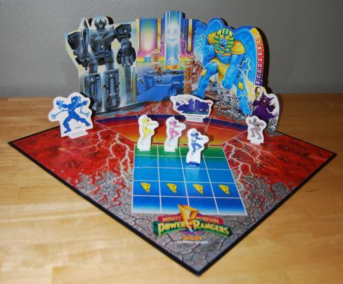 Milton bradley power rangers board game7