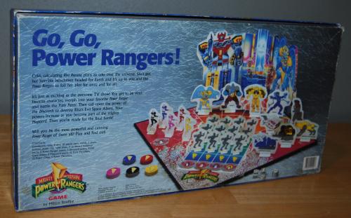 Milton bradley power rangers board game11