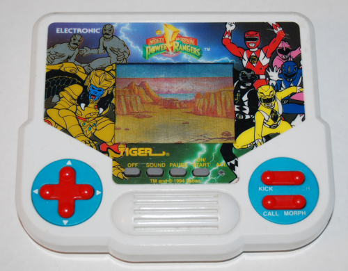 Tiger electronic power rangers game