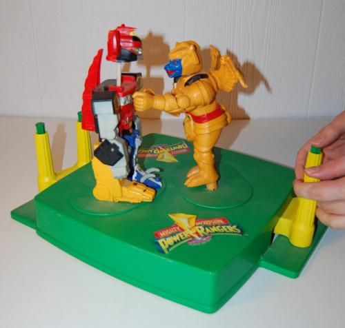 Power ranger rockem sockem game 3