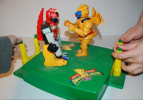 Power ranger rockem sockem game