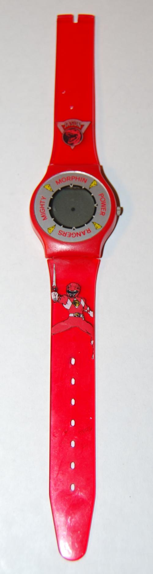 Power ranger watch