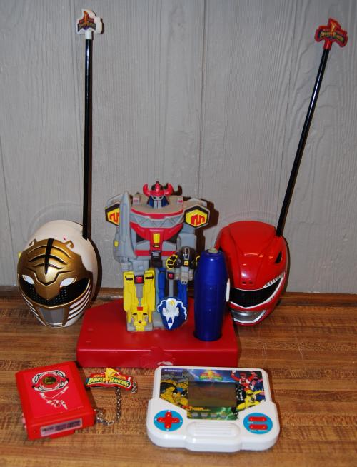 Power ranger collectibles
