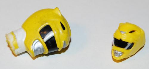 Yellow ranger ring