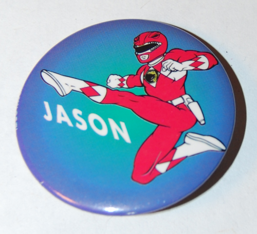 Power ranger button