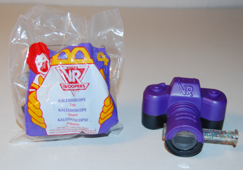 Vr troopers happy meal toy