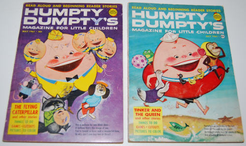 Vintage humpty dumpty's magazine 4