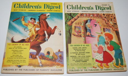 Vintage children's digest 3
