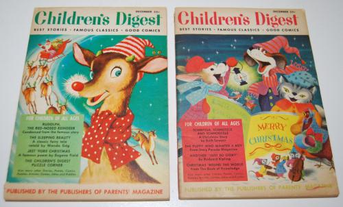 Vintage children's digest 4