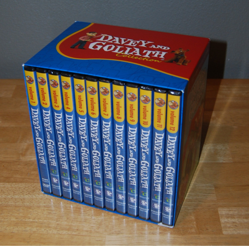 Davey & goliath 50th anniversary dvd collection 1