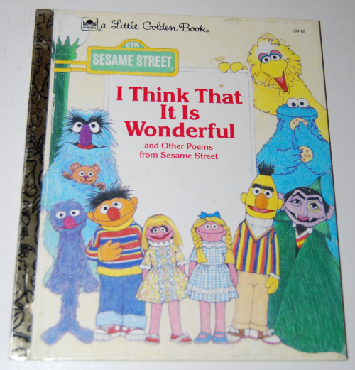 Little golden books sesame street