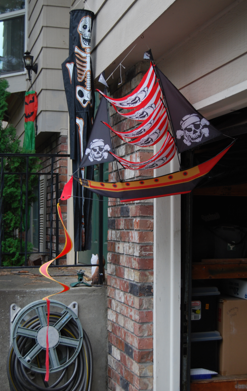 Pirate ship kite 1