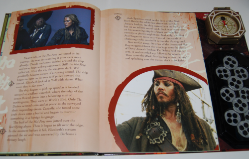 Pirates of the caribbean at world's end book & viewer 8