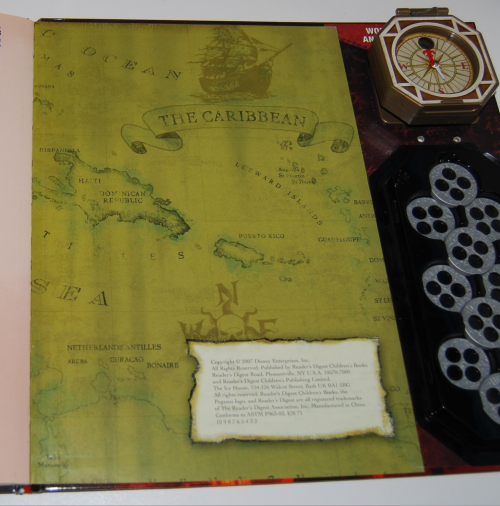 Pirates of the caribbean at world's end book & viewer 11