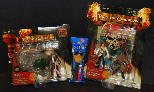 Pirates of the caribbean happy meal toy lot